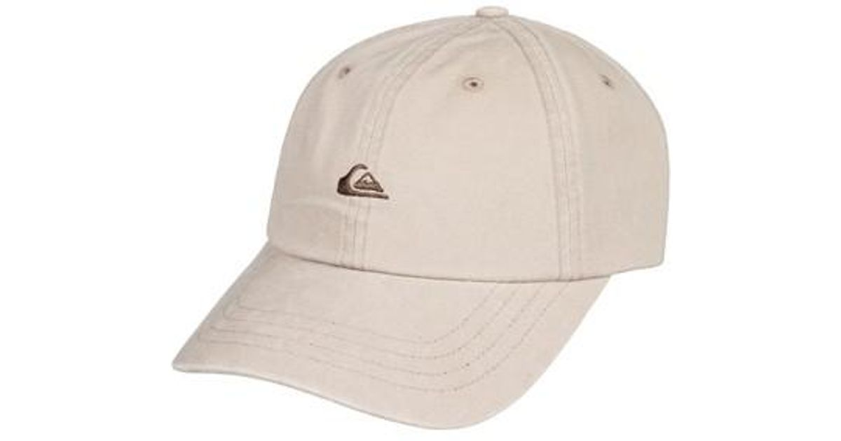 quality design d1d1d ee345 ... inexpensive lyst quiksilver papa baseball cap in natural for men 6986b  4bbd8