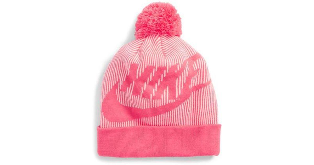 c1d351fbb82df cheapest nike beanie pink 2fceb 5d01e