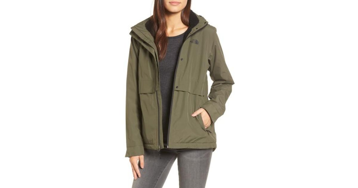 3b66060fc03f Lyst - The North Face Morialta Jacket in Green