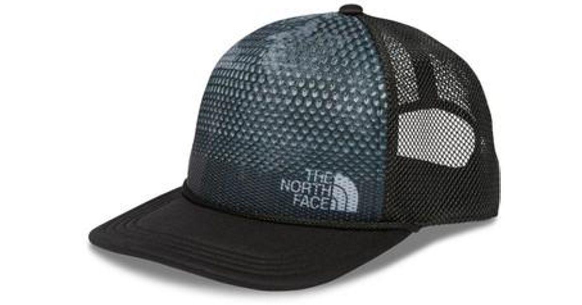 Lyst - The North Face Trail Trucker Hat - in Black for Men e616e8d1ac8