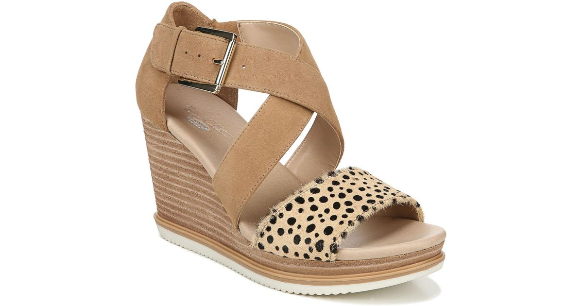 a1b3c0d3246 Lyst - Dr. Scholls Sweet Escape Wedge Sandal