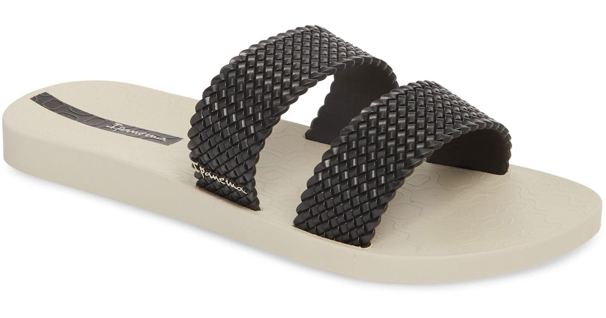 Ipanema Slide In Lyst Black City Sandal b7yYf6g