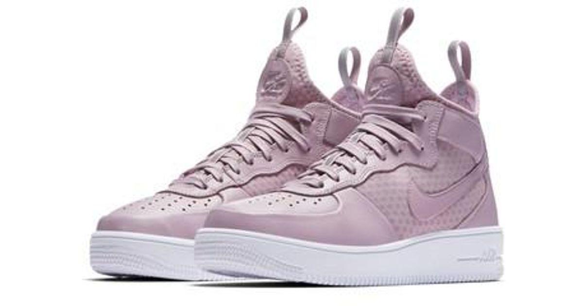 Nike Purple Air Force 1 Ultraforce Mid Sneaker