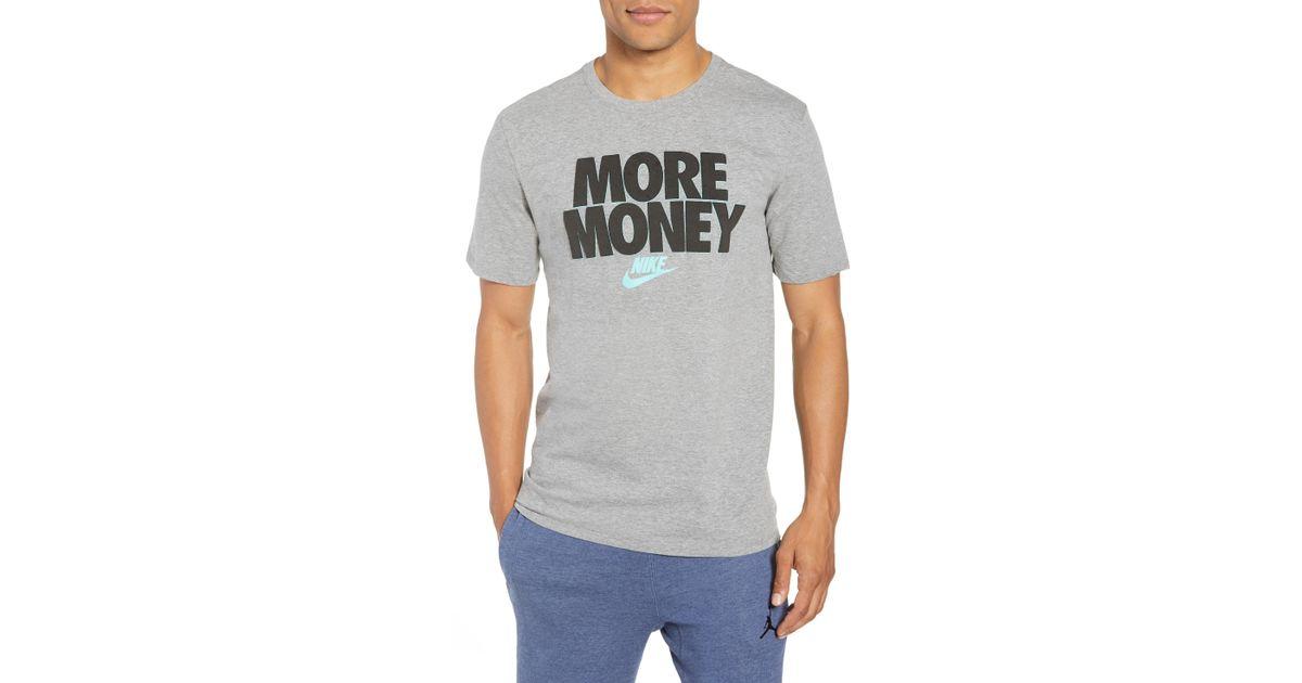 Nike - Black Sportswear More Money T-shirt for Men - Lyst