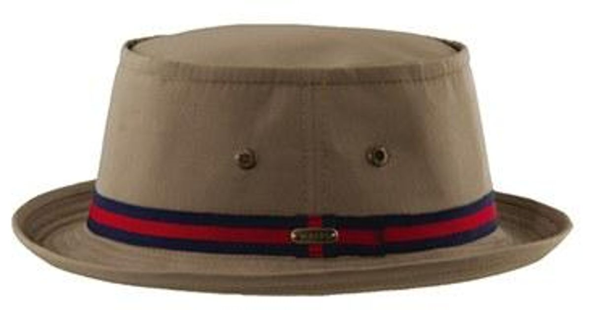 Lyst - Stetson  fairway  Canvas Bucket Hat for Men 92e4ec1532d