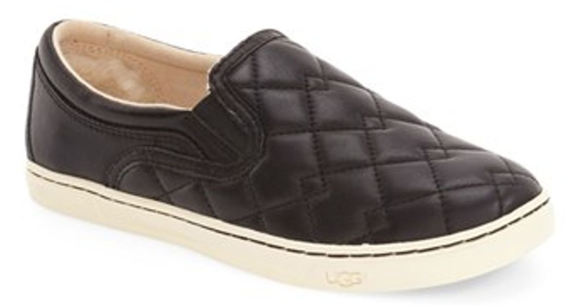 Leather Quilted Uggs