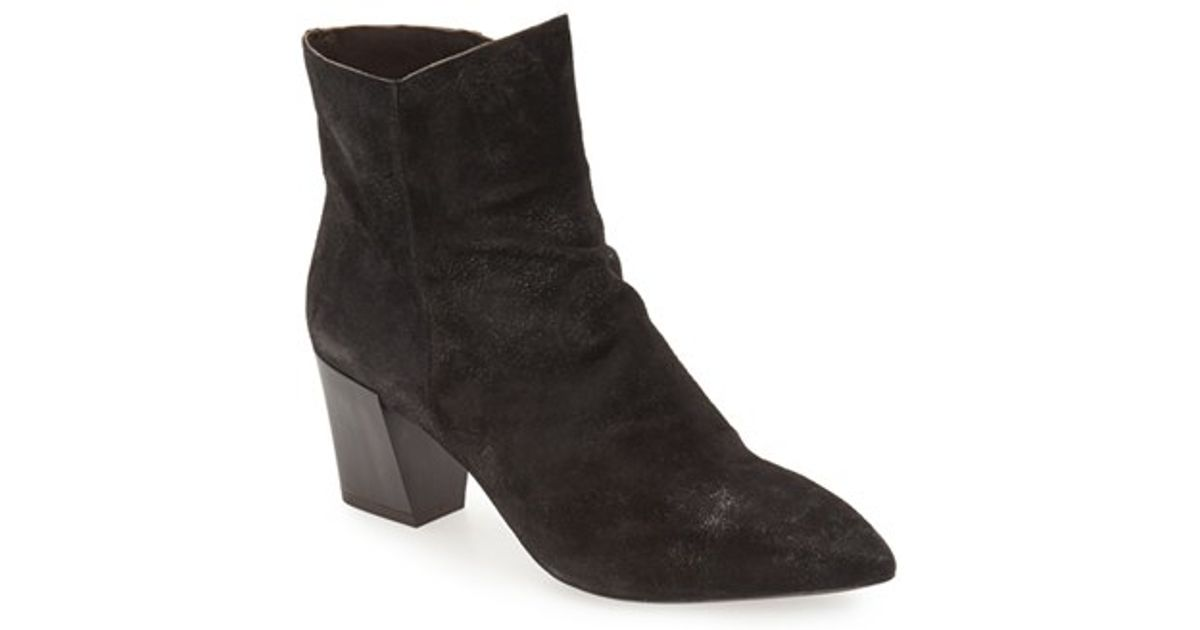Coclico Joy Pointy Toe Bootie In Black Lyst