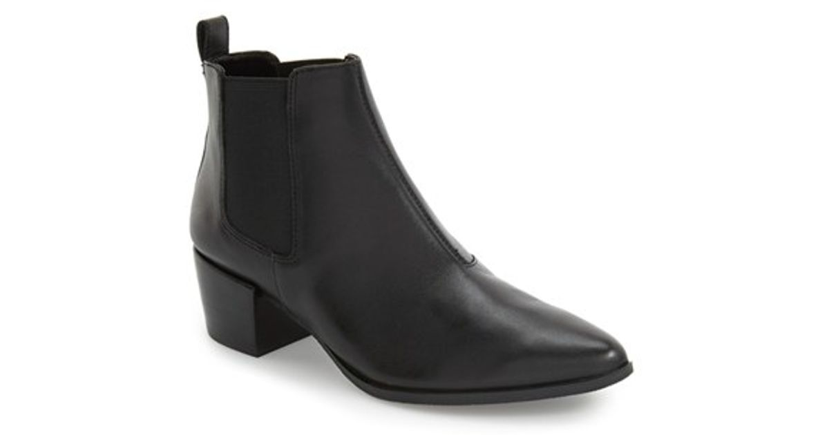 036fb22fd79 Lyst - Steve Madden  Vanity  Pointed-Toe Chelsea Boot in Black