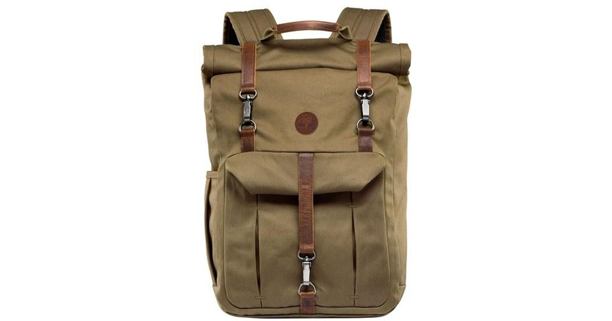 a76c52aa3e Timberland  walnut Hill  Canvas Backpack in Green for Men - Lyst
