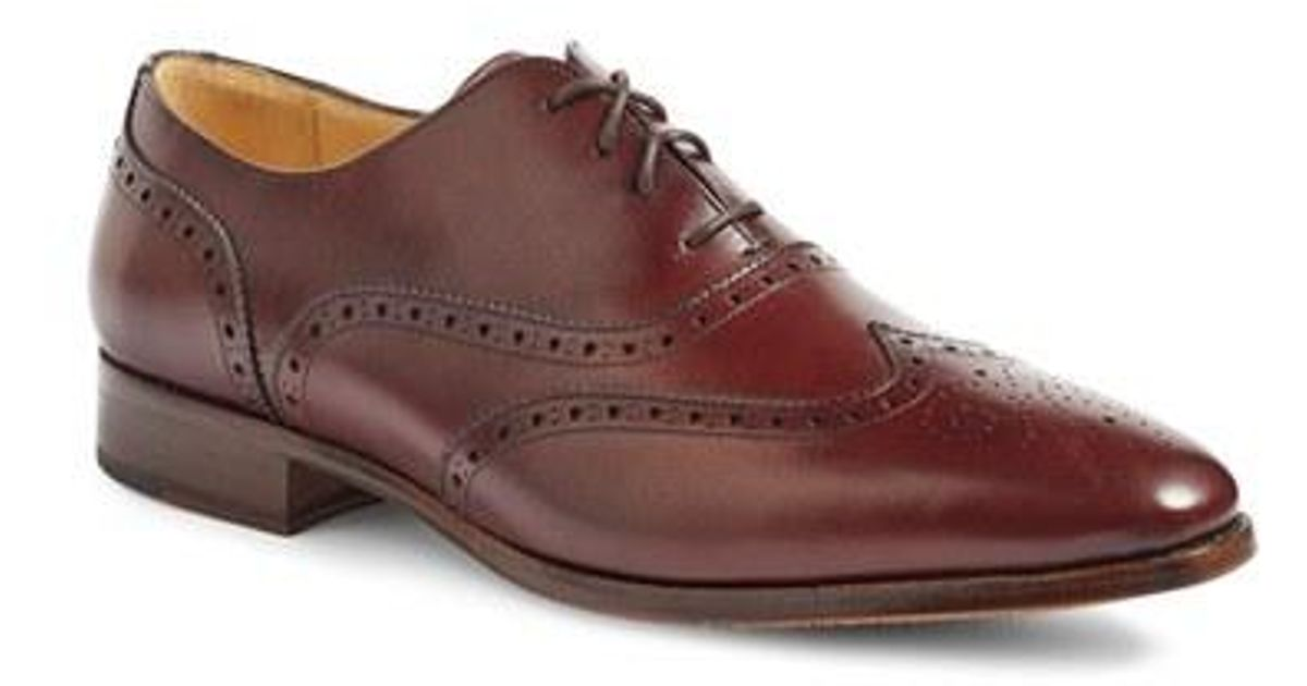 3cb256e9a47 Lyst - Jack Erwin Adam Wingtip in Brown for Men