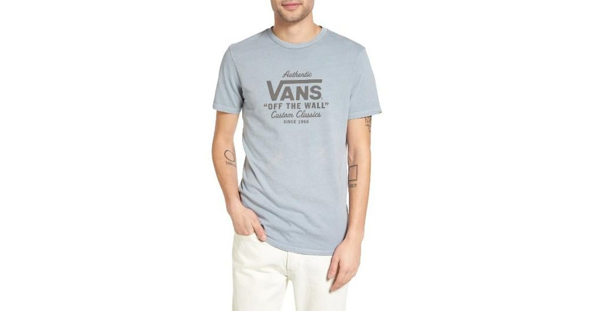6b35cc78b60 Lyst - Vans Holder Graphic T-shirt in Blue for Men