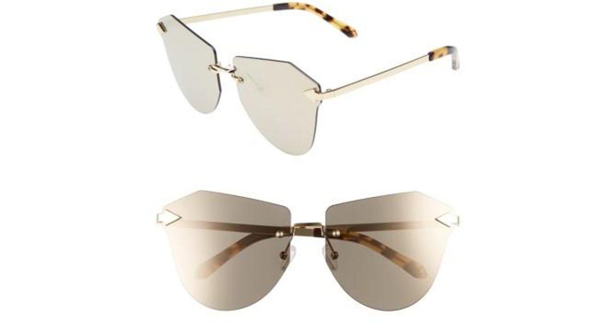 Lyst - Karen Walker Dancer 58mm Rimless Mirrored Lens Sunglasses - Crazy  Tortoise  Gold  Mirror in Metallic 0efc0939e186c
