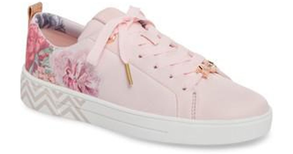 83a9179786cd0 Lyst - Ted Baker Kelleit Sneaker in Pink