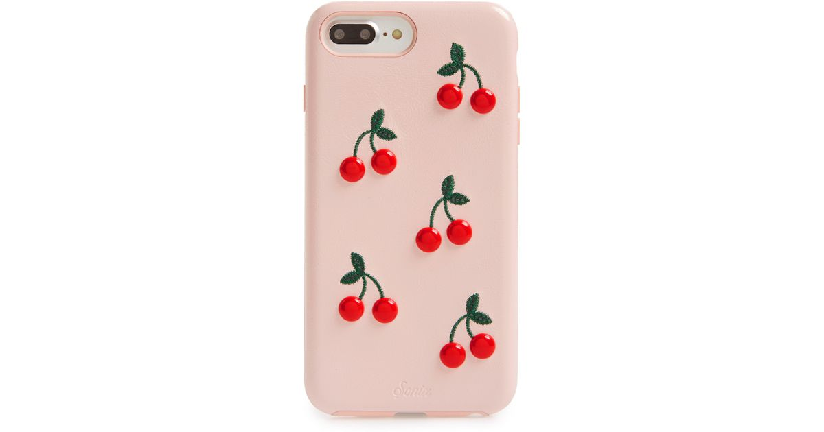 new concept e5c25 cc488 Sonix - Red Cherry Iphone 7/8 Plus Case - Lyst