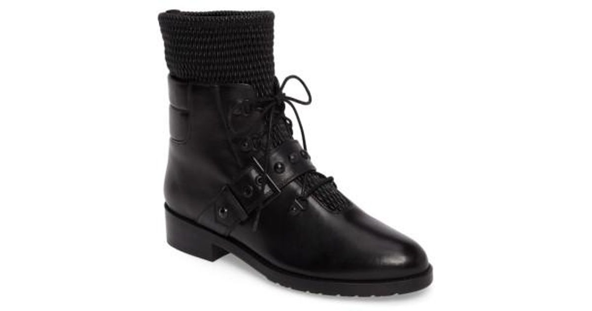 Stuart Weitzman Texture Combat Boots cheap sale 100% authentic free shipping how much w4sG8AF52