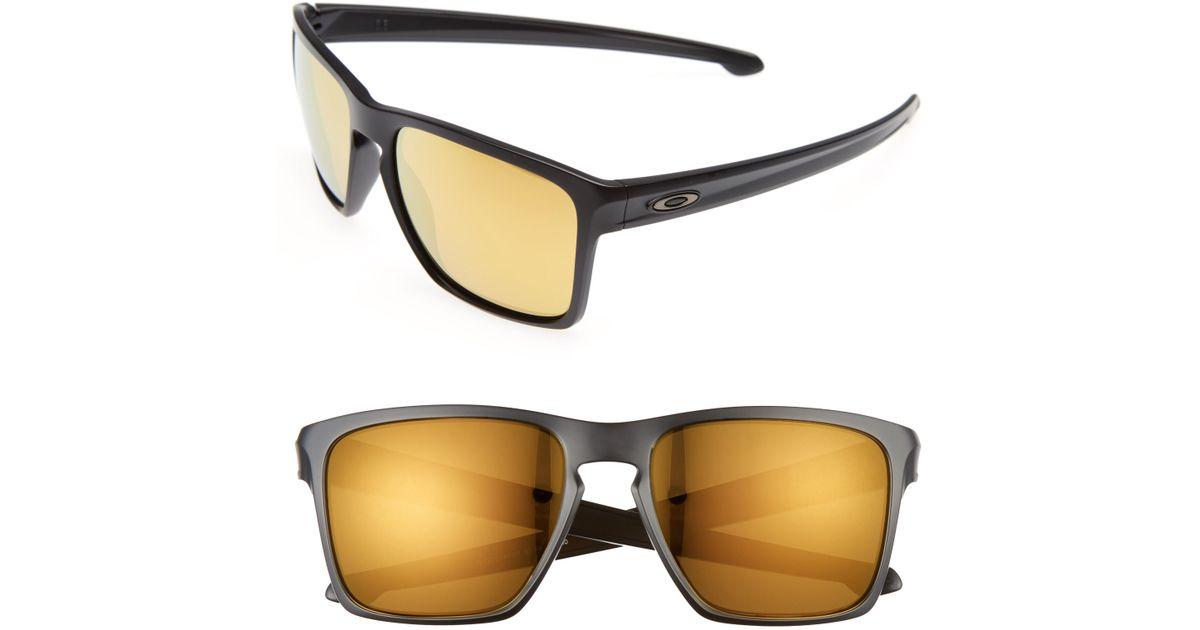 9c164527a6 Lyst - Oakley Silver Xl 57mm Sunglasses - in Metallic for Men