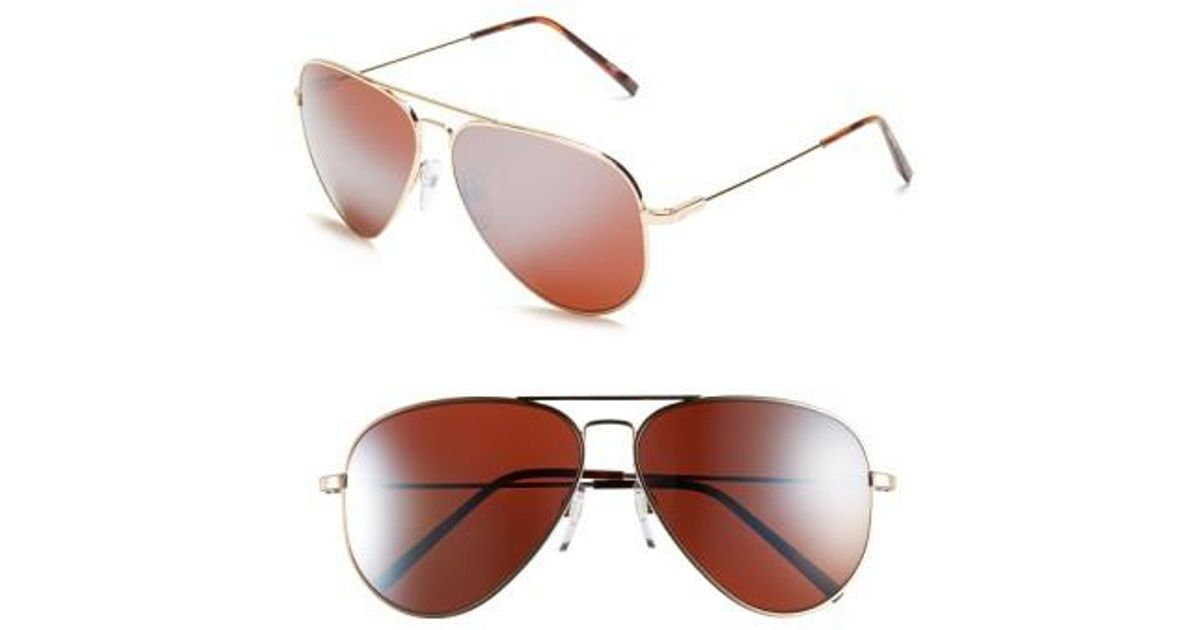 f659a417478 Lyst - Electric  av1 Xl  62mm Aviator Sunglasses in Red