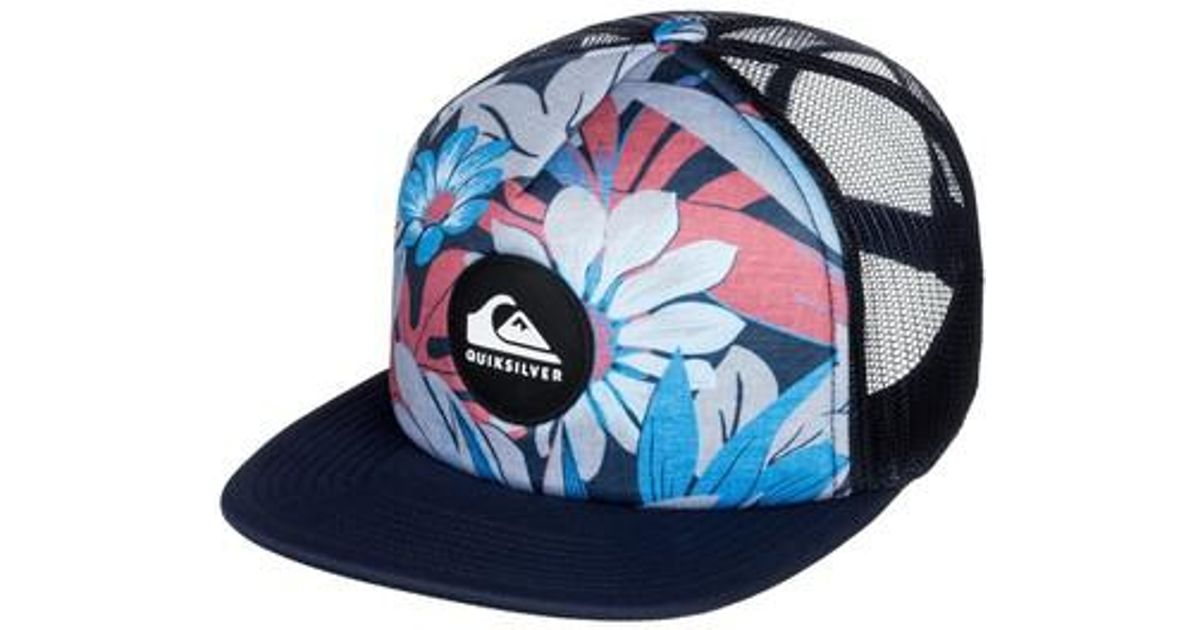 e864f434f975c ... australia new zealand lyst quiksilver quicksilver faded out trucker hat  in blue for men 34d1c e395c ...
