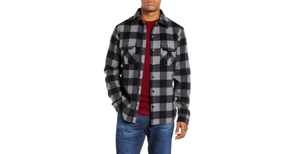 5efbf52ebf2b Smartwool Anchor Line Flannel Shirt Jacket for Men - Lyst