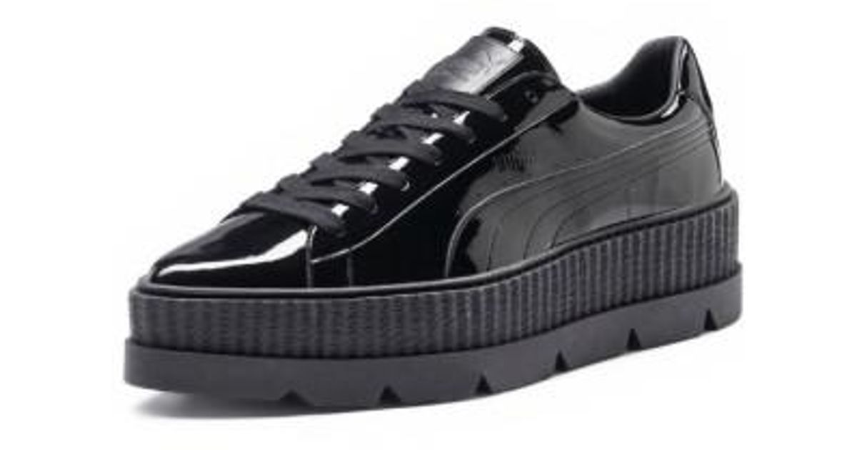 54cbc4719bce95 Lyst - PUMA Fenty By Rihanna Pointy Toe Creeper Sneaker in Black