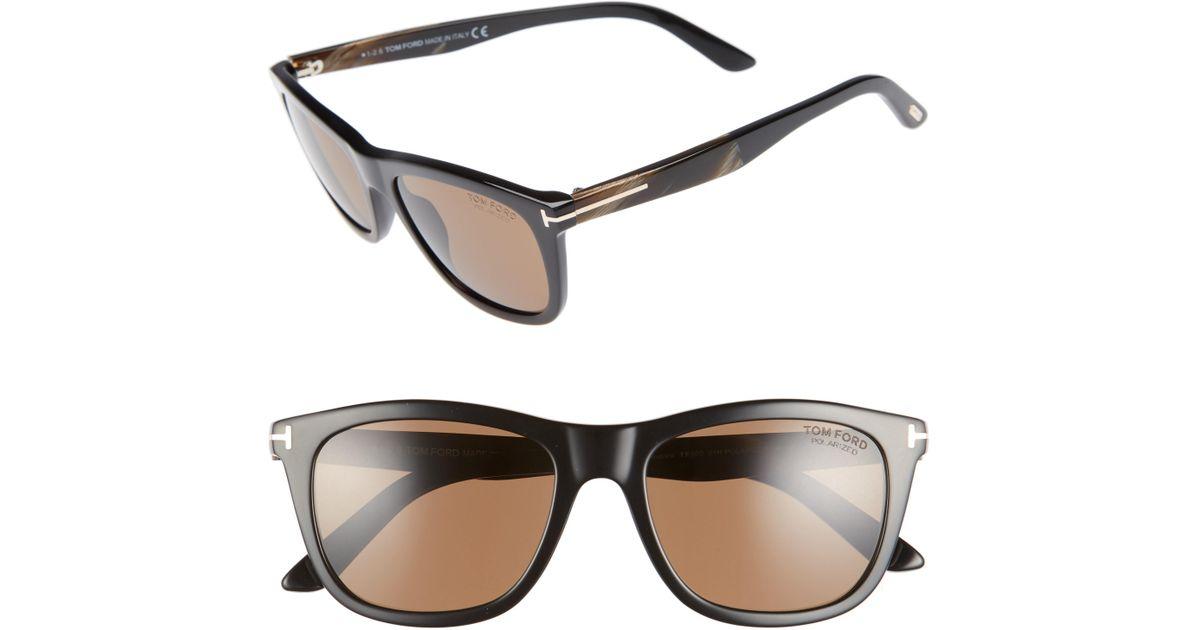 bbd9e0ed2d8 Lyst - Tom Ford Andrew 54mm Polarized Sunglasses - in Gray for Men