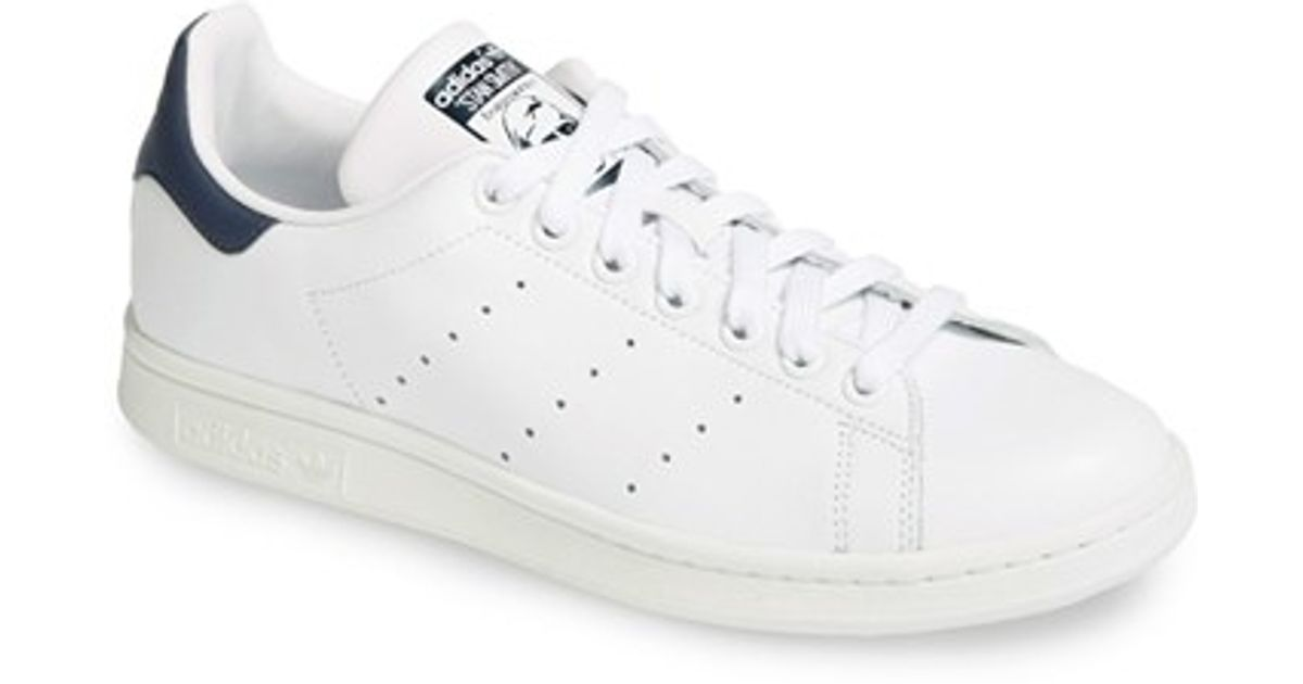adidas Originals Stan Smith Trainers Womens Sports footwear Womens Trainers COLOUR-navy/white