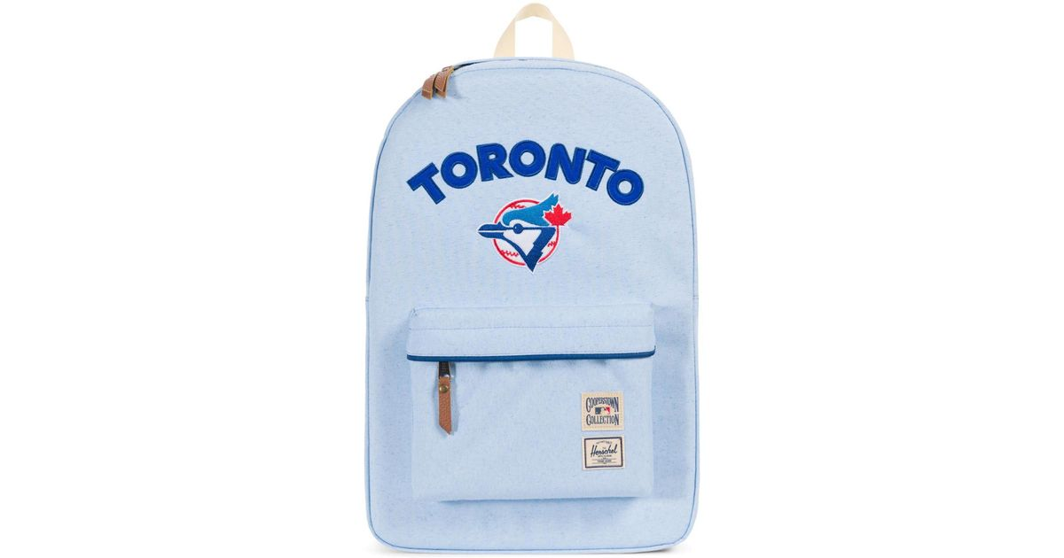 92c026ecde Lyst - Herschel Supply Co. Heritage - Mlb Cooperstown Collection Backpack  in Blue