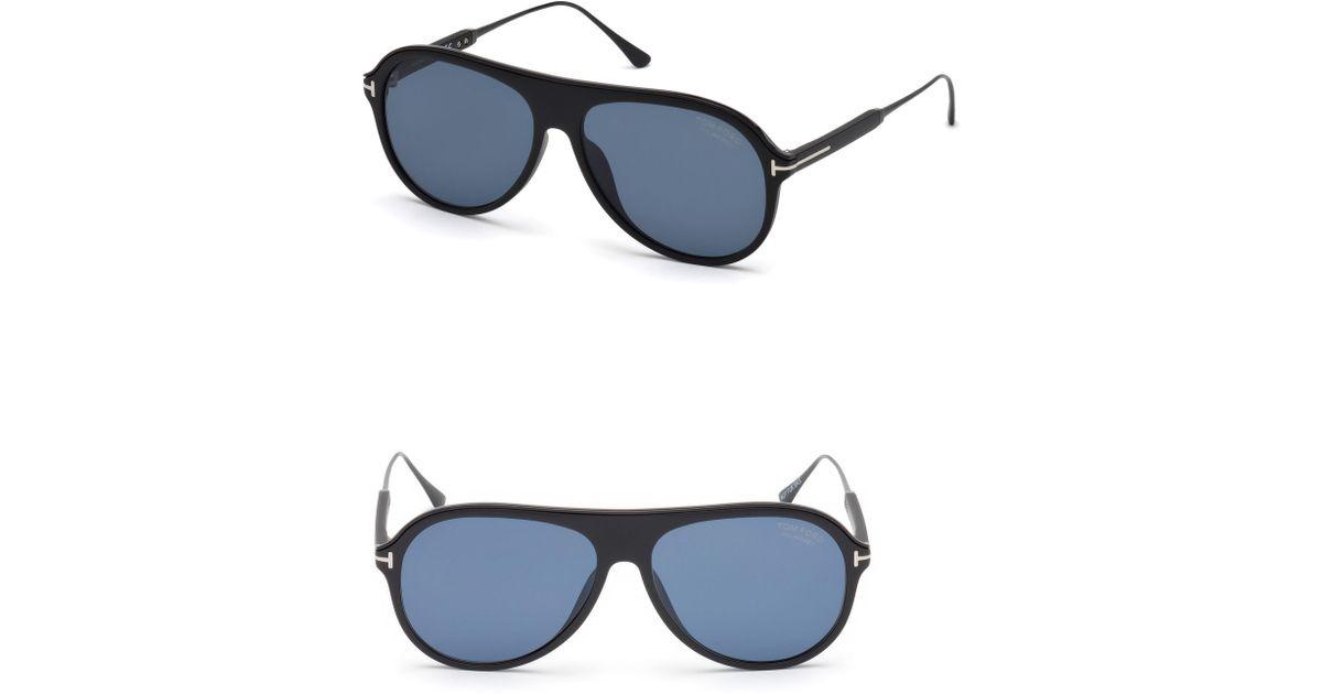 a66b806d2e2 Lyst - Tom Ford Nicholai-02 57mm Polarized Sunglasses in Blue for Men