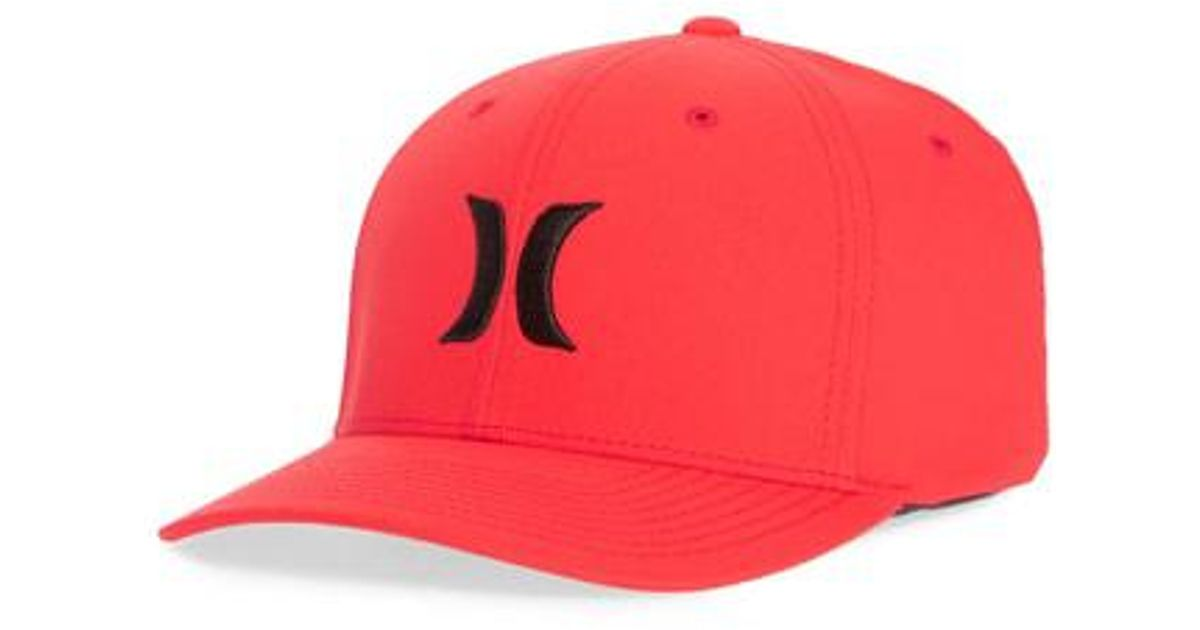 finest selection 379dd 9143c ... denmark lyst hurley dri fit one only logo cap in blue for men 810a4  7266e