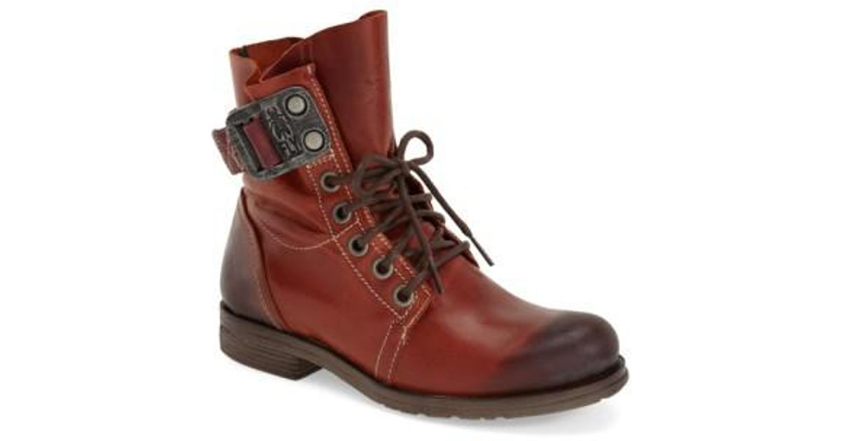 Lyst - Fly London Stay Leather Ankle Boots in Brown a9d8df20b45