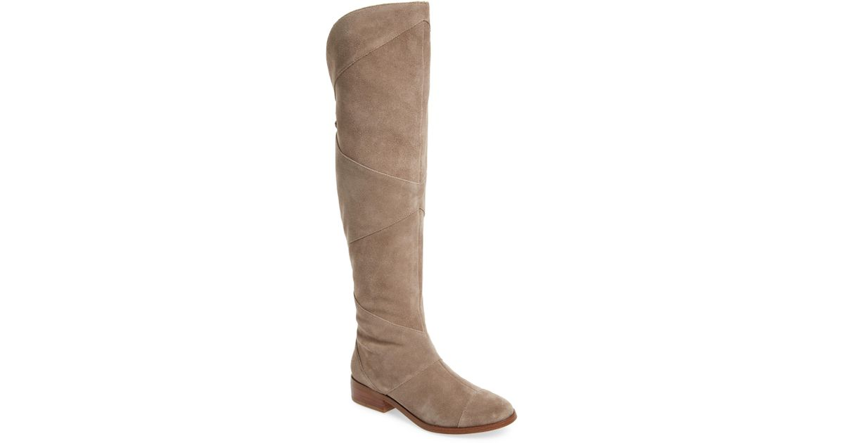 8657963e161 Sole Society Tiff Over The Knee Boot in Brown - Save 40% - Lyst