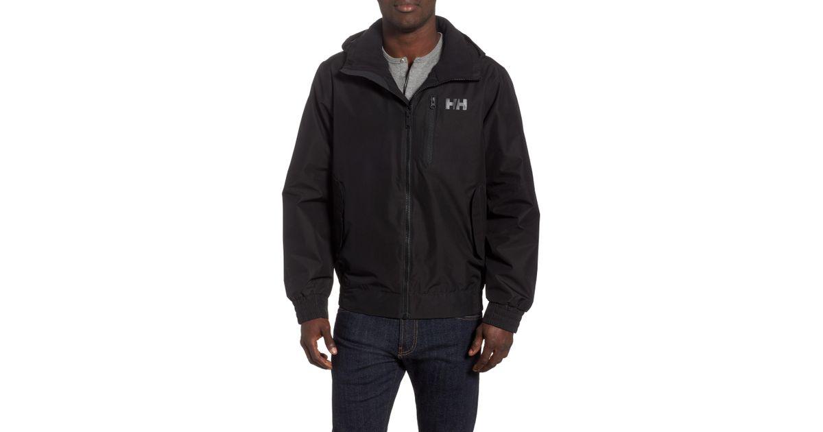 2490a7923 Helly Hansen - Black Dubliner Bomber Jacket for Men - Lyst