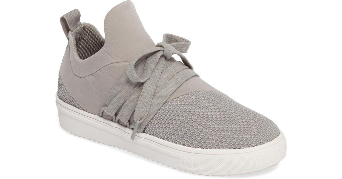 b24fe567fd1 Lyst - Steve Madden Lancer Sneaker (women) in Gray