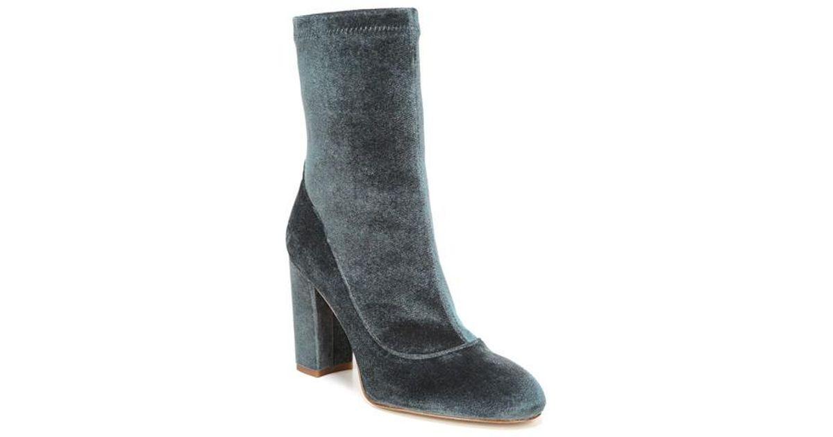 ba7ddde82 Lyst - Sam Edelman Calexa Sock Bootie in Gray