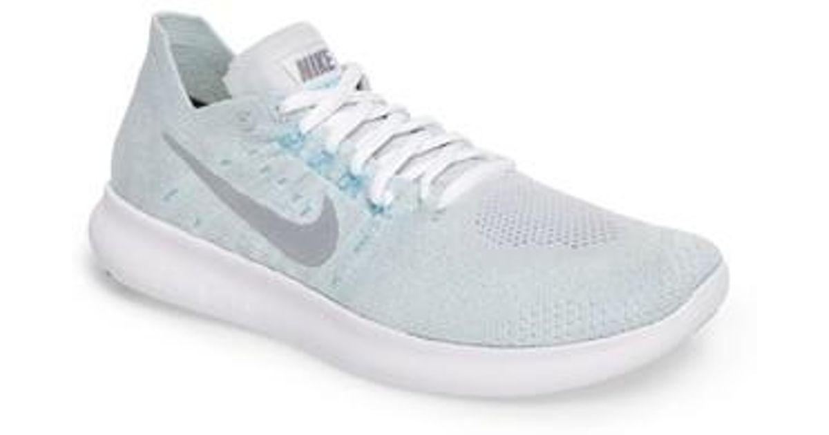 Lyst - Nike Free Run Flyknit 2 Running Shoe in Metallic for Men 17002ba84c38