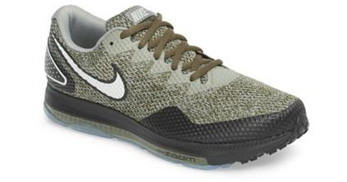 c2e008ece992 Lyst - Nike Zoom All Out Low 2 Running Shoe in Green for Men