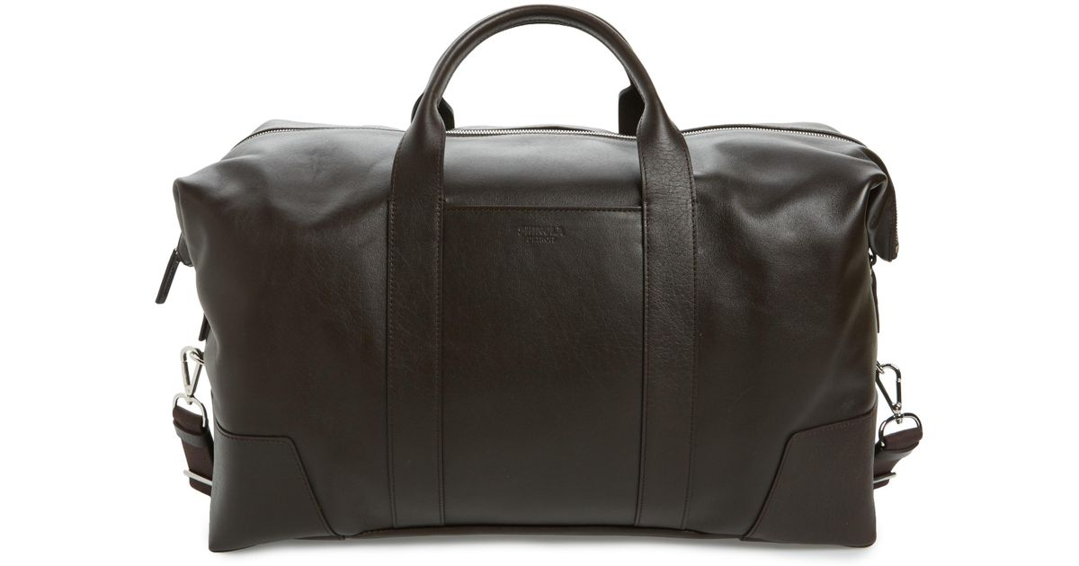 ce4a6df13be6 Lyst - Shinola Signature Leather Duffel Bag in Brown for Men
