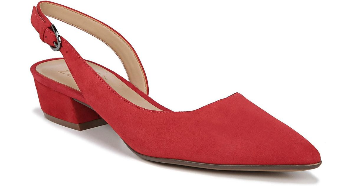 3227651abb6 Lyst - Naturalizer Banks Pump in Red - Save 52.525252525252526%