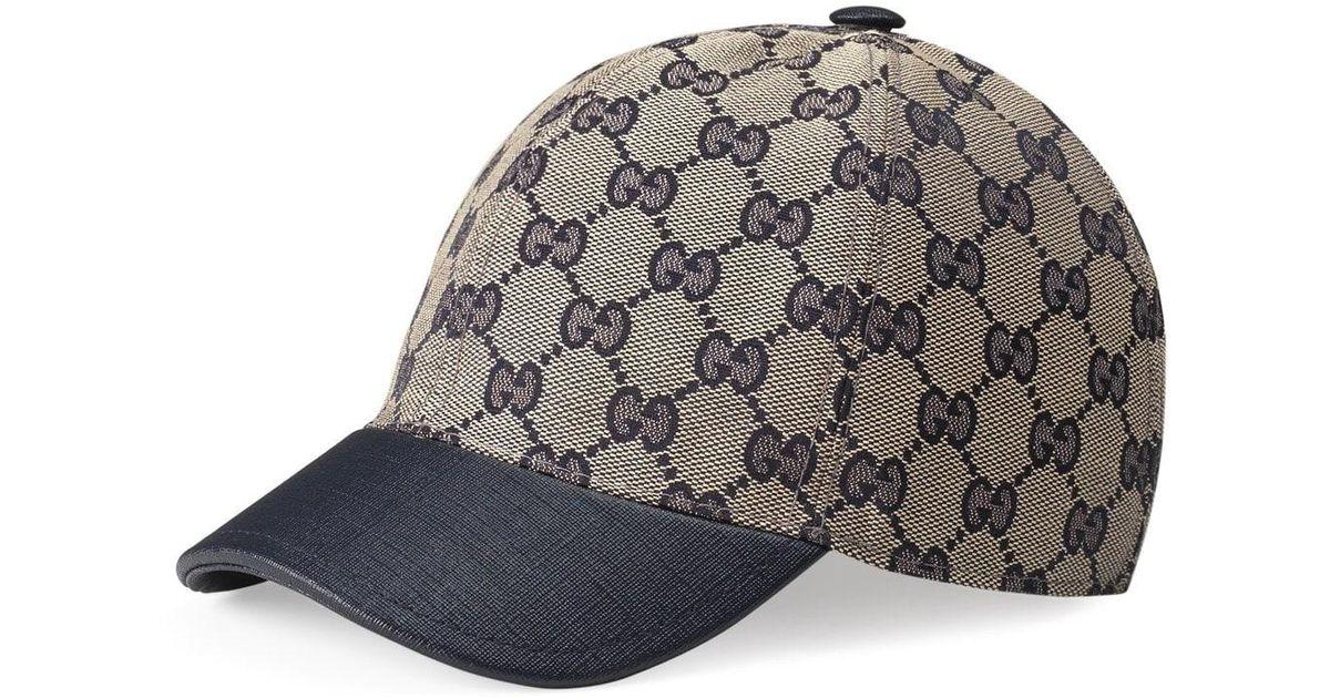 Lyst - Gucci  junior  Check Hat - for Men d5d60d8f155