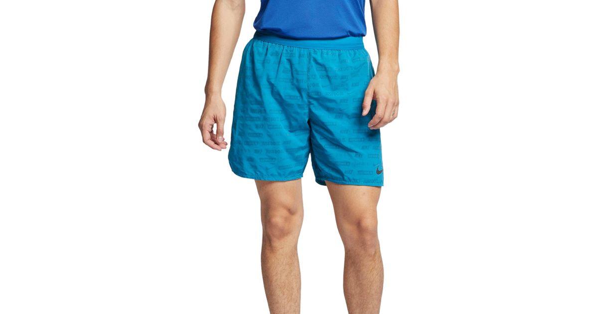 d3ed055b6fda Lyst - Nike Stride Ghost Flash Running Shorts for Men