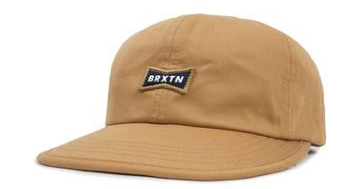 size 40 747ad 7f63b Brixton Missouri Logo Patch Cap for Men - Lyst