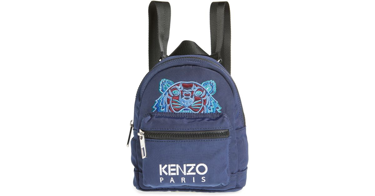 b505dcabe Lyst - Kenzo Icon Mini Backpack - in Blue
