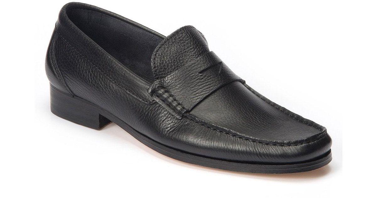 b474de996fc Lyst - Sandro Moscoloni Segovia Penny Loafer in Black for Men