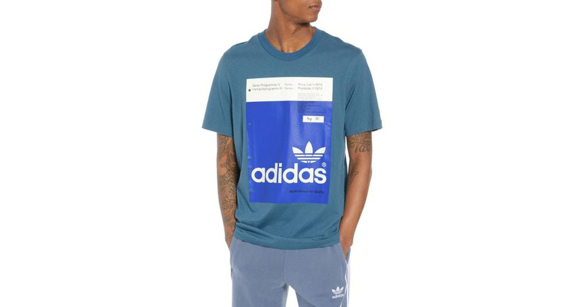 376f11b0 adidas Originals Pantone Graphic T-shirt for Men - Lyst