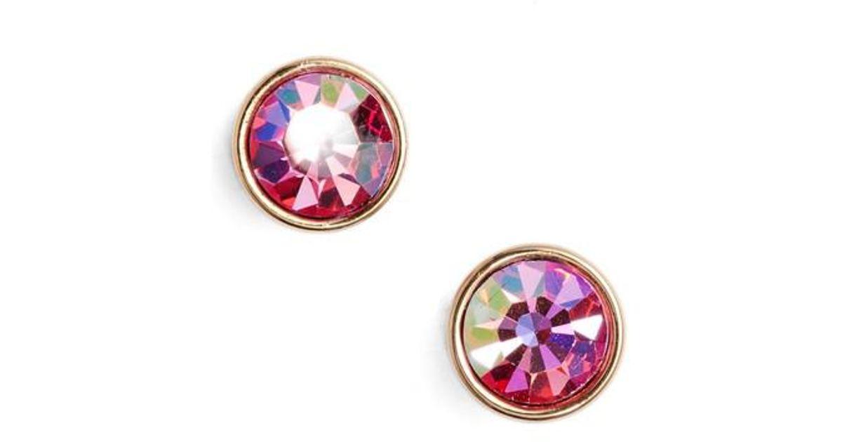 f9dd2f972 Lyst - Kate Spade 'forever' Stud Earrings in Pink