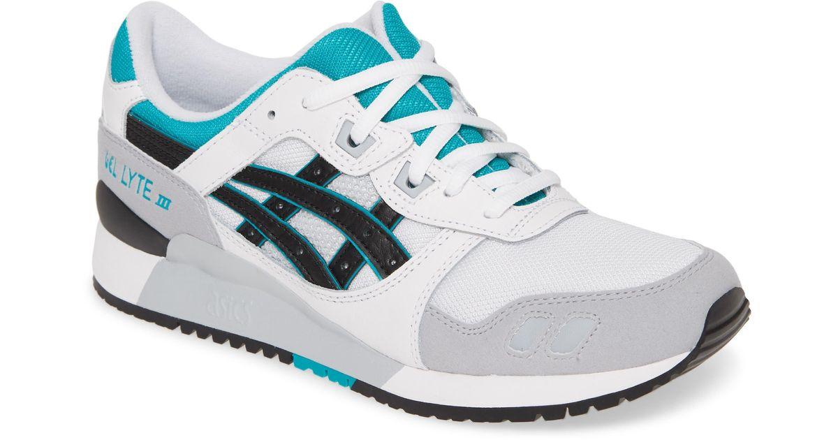 newest 91458 f6f5a Asics - Black Asics 'gel-lyte Iii' Sneaker for Men - Lyst