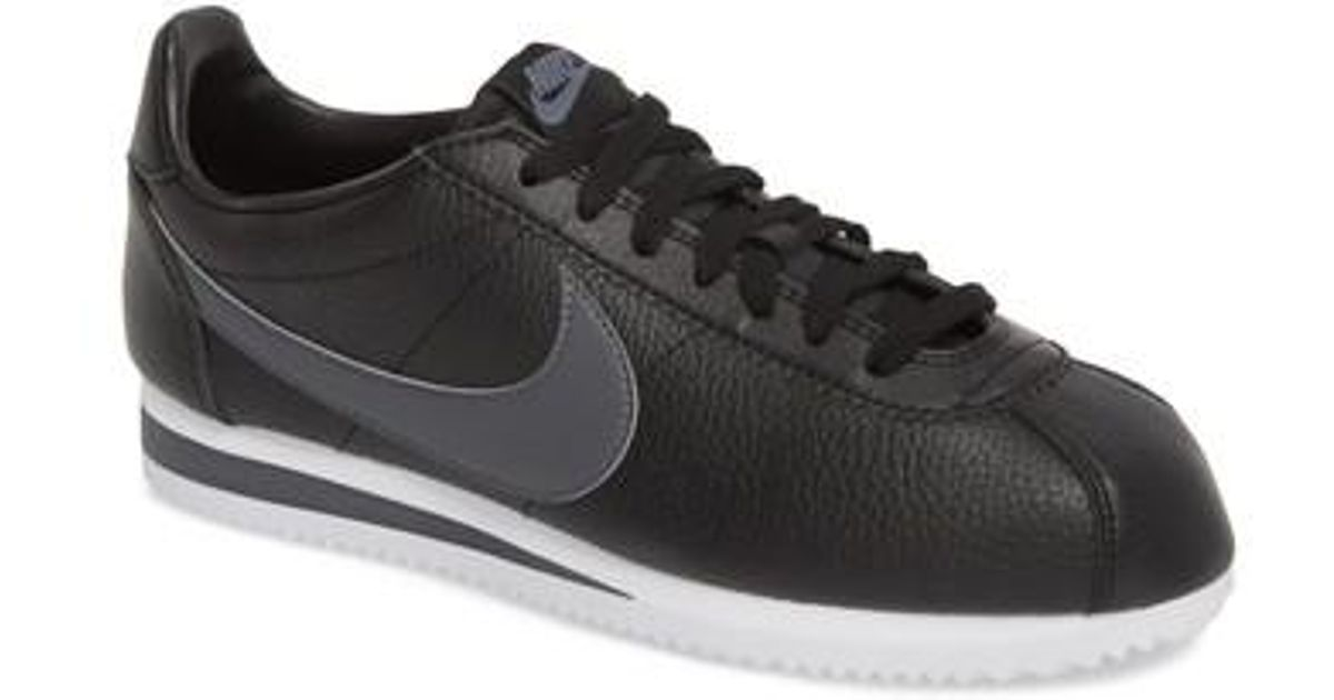 online store 5d477 30a19 ... promo code for lyst nike classic cortez sneaker in black for men sold  at reasonable prices