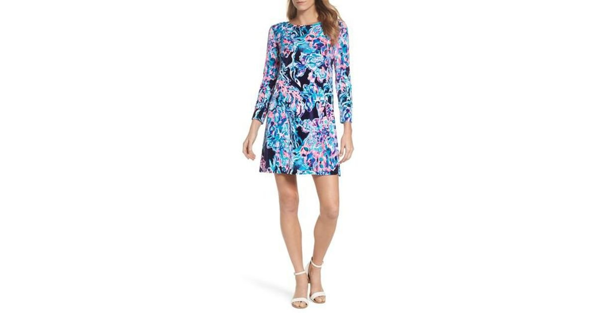 d0eb6867250b Lyst - Lilly Pulitzer Lilly Pulitzer Olive Swing Dress in Blue