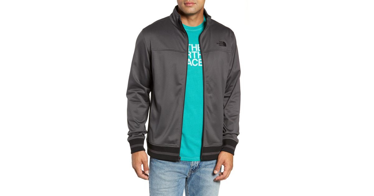 Lyst - The North Face Alphabet City Track Jacket in Gray for Men 46a2ad2bd