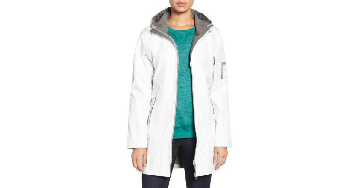 3a8f20e1b Lyst - Ilse Jacobsen 'rain 7b' Hooded Water Resistant Coat in Green